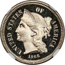 Two & Three Cent Pieces